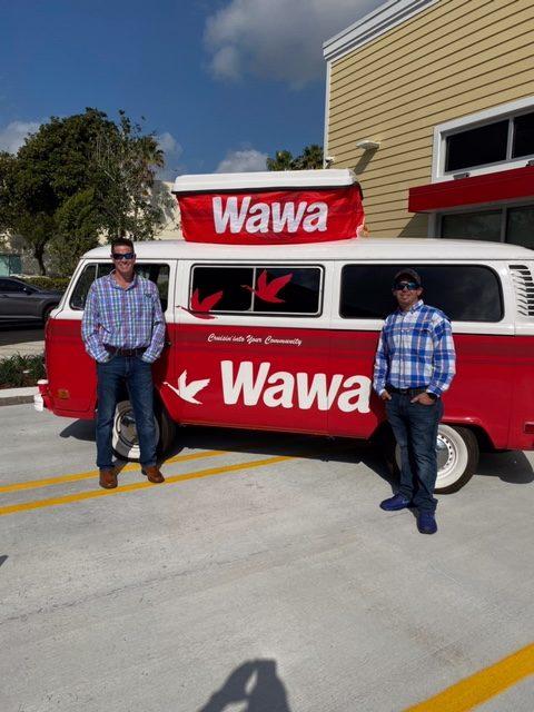 Adam & Alex at Wawa 5357 Grand Opening 030520